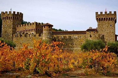 Photo courtesy of Castello di Amarosa Winery
